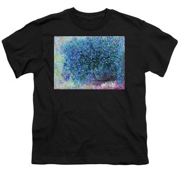 Bouquet Of Forget Me Nots - 2 - Youth T-Shirt