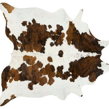 Natural Hide, Exotic Tricolor, Area Rugs