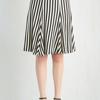 Nautical Mid-length Full Twirly Edition Skirt