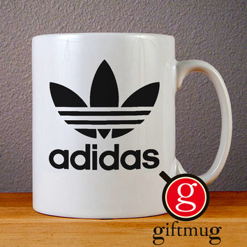 Adidas Logo Ceramic Coffee Mugs