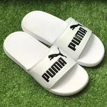 PUMA Women And Men Casual  Fashion Sandal Slipper Shoes