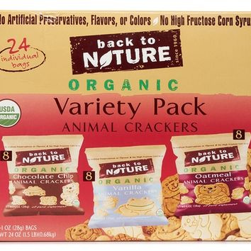 Back To Nature Organic Animal Crackers