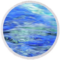 Ocean Round Beach Towel for Sale by Susan Eileen Evans
