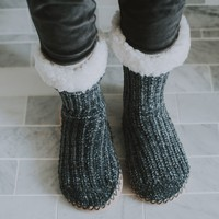 Cozy Chenille Slipper Socks | Soft Slippers