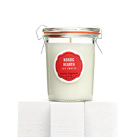 Valentines Candle - Nordic Hearth Soy candle. Handmade scented container candle. Perfect for romance. Valentines Day