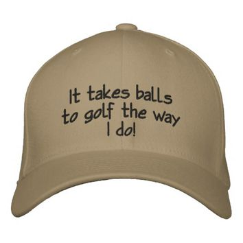 Funny Men's, Custom Golf Hat