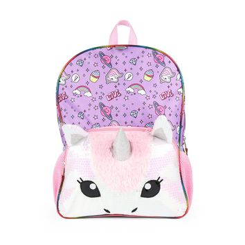 "16"" Unicorn Kids' Backpack - Purple/Pink"