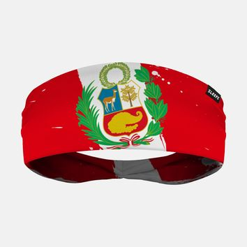 Peru Brushed Flag Headband