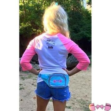 Girly Barbell Bow Fannypack