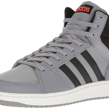 adidas NEO Men's Vs Hoops Mid Basketball Shoe Grey/Black/Infrared 10.5 D(M) US '
