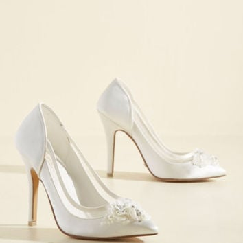 Embellished to Intrigue Heel | Mod Retro Vintage Heels | ModCloth.com