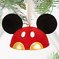 Best of Mickey Mouse Ear Hat Ornament