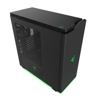 NZXT H440 Razer Special Edition ATX Mid Tower 7X2.5IN 5X3.5IN 2XUSB3.0 Steel Computer Case Black - CA-H440W-RA