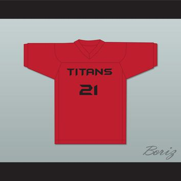 Donnie 21 Titans Intramural Flag Football Jersey Balls Out