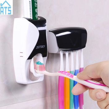 Automatic Sensor Toothpaste Dispenser and Toothbrush Holder
