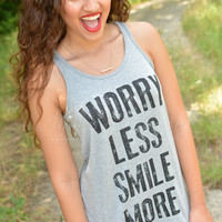 WORRY LESS TANK TOP