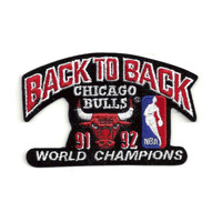 Logo Patch - Chicago Bulls 1992 Champions