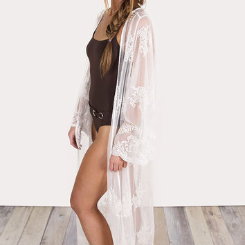 Olivia Lace Cover-Up