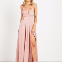 Lancaster Dress - Dusty Pink