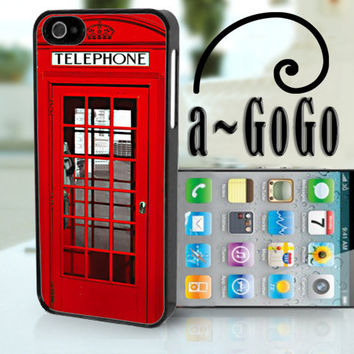iPhone 5 case, London Phone Box Design, custom cell phone case