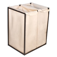 The Bag Stand Co Double Hamper with Bag & Reviews | Wayfair