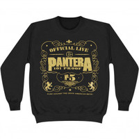 Pantera 101 Proof Sweatshirt - Pantera - P - Artists/Groups - Rockabilia