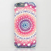 Ocean Sunset Mandala iPhone & iPod Case by Tangerine-Tane