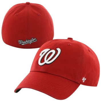'47 Washington Nationals Red Home Franchise Fitted Dad Hat