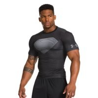 Under Armour Mens Under Armour Alter Ego Man Of Steel Compression Shirt