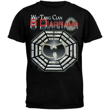 VONERE1 Wu-Tang Clan - 8 Diagrams Foil T-Shirt