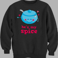 sugar and spice couple women Sweater for Mens Sweater and Womens Sweater ***
