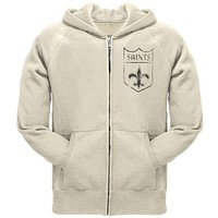 New Orleans Saints - Old School Logo Zip Hoodie