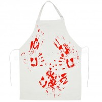 Blood Splatter Butcher's Apron | Horror Homewares