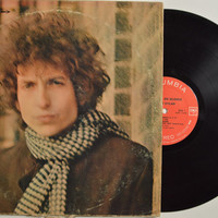 "BOB DYLAN - ""Blonde on Blonde"" vinyl record"