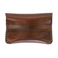 Flap Slim in Whiskey Horween® Shell Cordovan – Made in USA