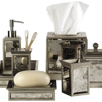 Palazzo Bath Accessories Set - Bath Accessories - Bathroom Organization - Bath | HomeDecorators.com