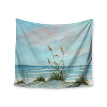 "Rosie Brown ""Sea Oats"" Wall Tapestry"