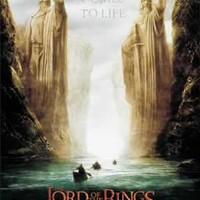 (27x40) Lord of the Rings 1: The Fellowship of the Ring Argonath Teaser Movie Poster