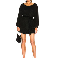 retrofete Grace Dress in Black Sequin | FWRD