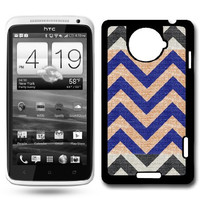 Fabric Chevron HTC One X Case Fits HTC One X