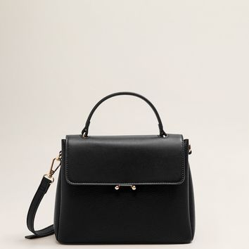 Flap cross-body bag - Women | MANGO USA