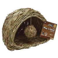 Super Pet Natural Play N Chew Cubby Nest Cage