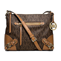 MICHAEL Michael Kors Signature Fallon Medium Messenger Bag