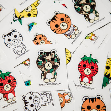 Set of 5 Original 2016 S/S Jerry Stickers