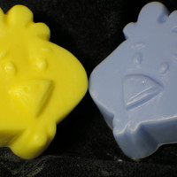chicken soap ( 2 ) - bird - animal soap - barn - chicken coop - hen party - country decor - handmade soap - Pick your Color and Fragrance