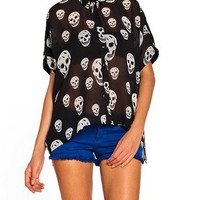Day of the Dead Blouse