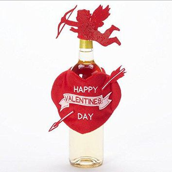 Food Network Valentines Day Wine Bottle Cover