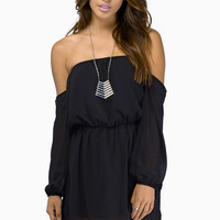 Show Me Shoulder Dress $36