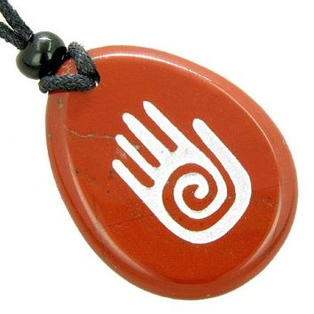 Infinity Protection Hand Amulet Believe Good Luck Necklace