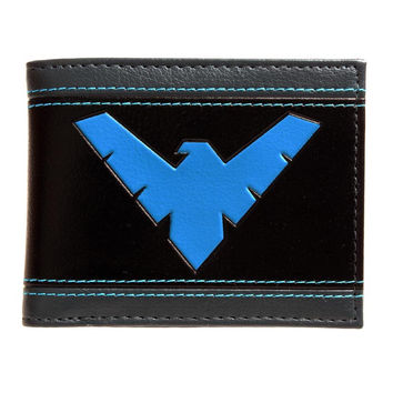 DC Comics Night Wing (blue) Bi-Fold Wallet